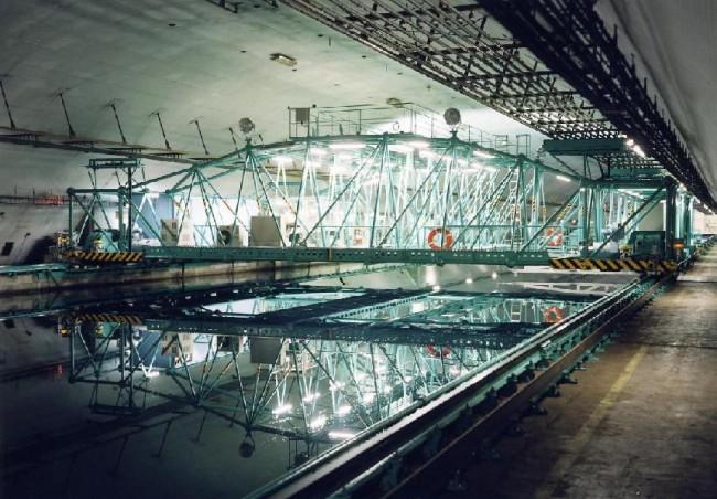 일본 해양기술안전연구소(NMRI)가 자랑하는 선박 시험시설인 400m 시험수조. - NMRI 제공